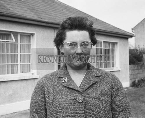 19th March 1964; A photo of Miss Leslie Turketine, secretary of the Kerry Branch of the NSPCA, who was seeking to have donkey racing controlled following the discovery of several forms of cruelty to racing animals during derbys.