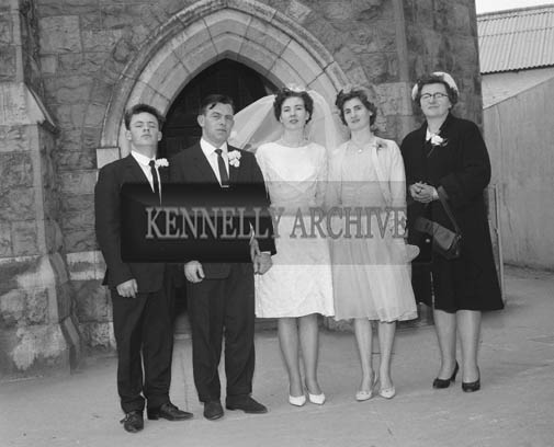 April 1964; A photo taken at a wedding in Listowel.