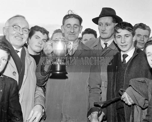 9th December 1964; A photo taken at a coursing meet in Castleisland.
