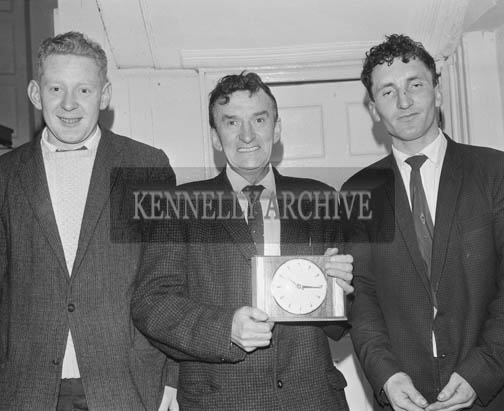 December 1964; A photo taken at a prize presentation in Tralee Desmonds Boxing Club.