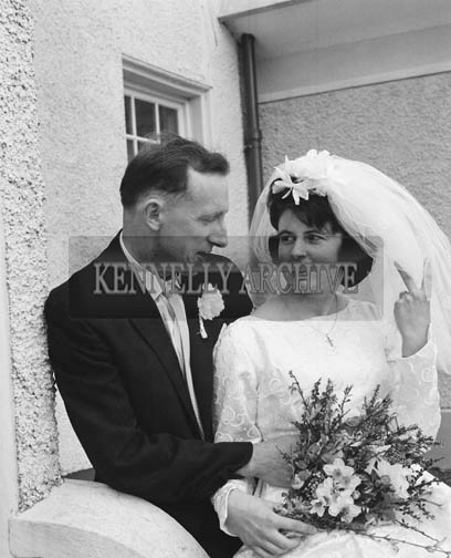 April 1964; A photo taken at a wedding reception in the Meadowlands Hotel, Tralee.