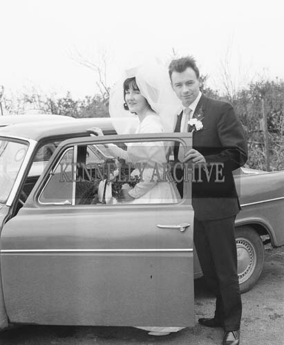 April 1964; A Photo of a Wedding in the Church of the Immaculate Conception (St Catherine's), Tralee.