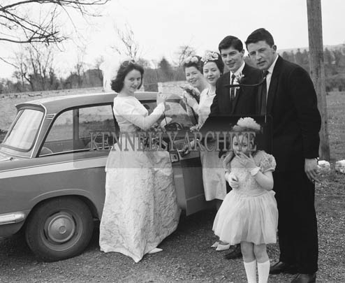 March 1964; A Photo of Kay Dunne's wedding reception in the Meadowland's Hotel in Tralee.