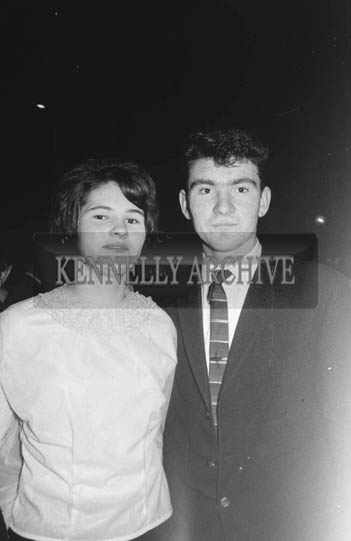 22nd December 1964; People enjoying themselves at a dance in the CYMS Hall, Tralee.