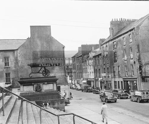 December 1964; A photo of Ashe Street, taken from Tralee Courthouse.