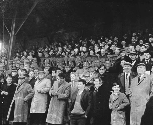 29th December 1964; A photo of the crowd at the Kingdom Cup coursing meeting in Ballybeggan Park, Tralee.