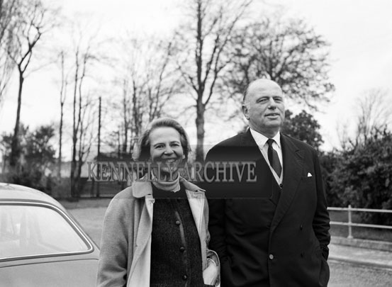 November 1965; Baron von Zitzewitz, a retired Shell executive and a native of Germany, who said he would like to see industries and commercial enterprises established in Kerry based on the ideas of Irishmen but backed by capital from abroad.