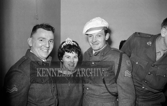 3rd March 1962; A group of people pose for the camera at FCA Social which took place at the Hotel Manhattan.