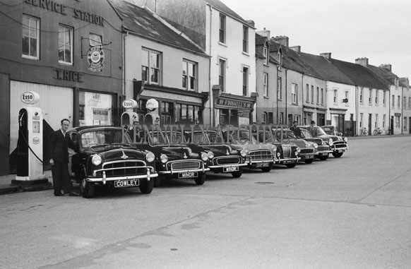 Road vehicles in ireland in 1950s for Garage auto legue langueux