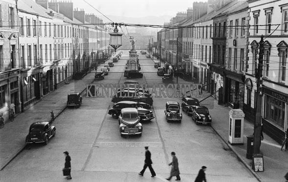 November 1954; A Photo Of Denny Street, Tralee.