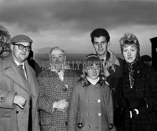 29th December 1964; A photo taken at the Kingdom Cup coursing meeting in Ballybeggan Park, Tralee.