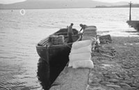 1953; A Photo Of A Boat At Valentia Pier.