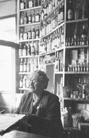 1953; A Lady Behind The Bar Of The Royal Hotel On Valentia Island.