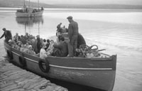 1953; A Photo Of The Ferry At Valentia Pier.