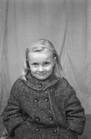 A Studio Photo Of A Young Girl