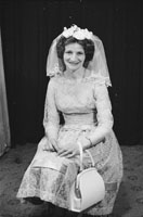 Studio Photo Of A Bride