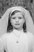 Studio Photo Of A Confirmation Girl