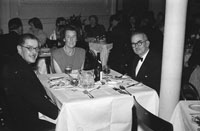 January 1954; A Group Of People Enjoying Dinner At The Golf Dress Dance And Dinner In Killarney.