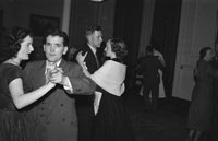 December 1953/January 1954; Couples Dancing At A Social At The Meadowlands Hotel.