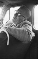 A Man In A Car