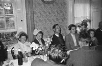 2nd September 1954; The Costello Sisters From Duagh Celebrated Their Double Wedding To Ed Stack And M Keane At The Meadowlands Hotel, Tralee.