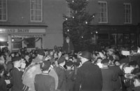 Christmas Tree Being Lit In Tralee