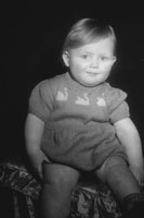 Studio Photo Of A Toddler
