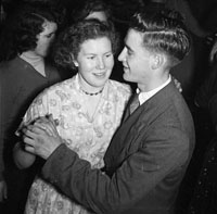 26th January 1956; A Couple Dancing At The Abbeydorney Ploughing Dance.