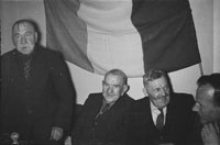 18th February 1956; A Group Of Men At St. Mary's Social Celebrating The South Kerry County GAA Championship Team In Caherciveen.