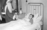 Santa Claus Visits The Hospital