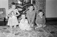 A Photo of Children at Home