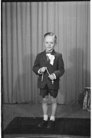 Studio Photo Of Eamon Kirby On His Communion Day