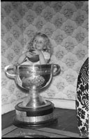 Photo Of Girl In Sam Maguire Cup
