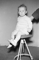 A Studio Photo of a Baby