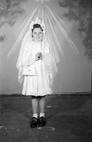 A Studio Photo of a Confirmation Girl