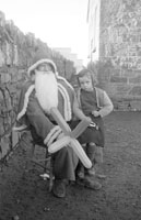 Santa at Tarbert National School