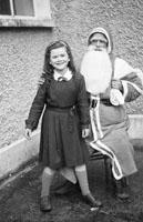 Santa at Presentation Convent School