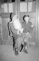 A Santa Visit to a School