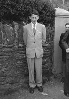 6th May 1957; A photo taken on confirmation day in Ballyferriter.