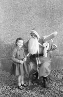 A Santa Visit to Kiltallagh National School
