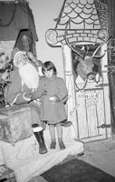 Santa in Foley's Shop