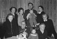 A Photo of Mikey Ger O'Sullivan and Family