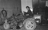 A Mechanic in Blennerhassett's Garage
