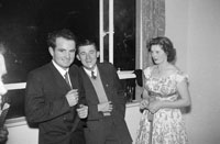 August 1957; A photo taken at a party in Tommy and Celine Horan's House in Boherbee, Tralee.
