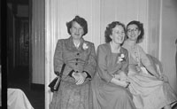 7th September 1957; A photo taken at a wedding reception in the Grand Hotel, Tralee.