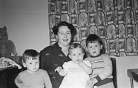 A Photo of John and Patricia Griffin and Family