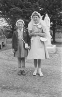 May 1957; A photo taken on Confirmation Day in Ardfert.