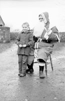 A Santa Visit to Knockbrack National School