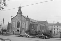 November 1958; The exterior of the church in Millstreet.