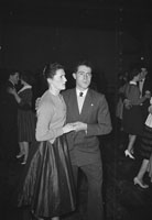 May 1960; A photo of people enjoying themselves at a dance in Millstreet.